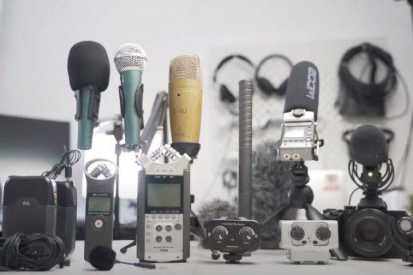 tips memilih microphone untuk podcast