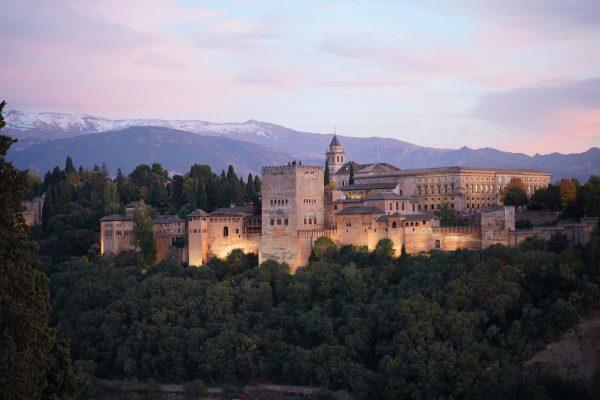 Pesona Istana La Alhambra, Andalucia